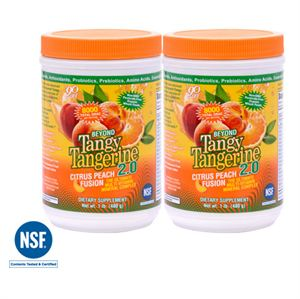 Youngevity BTT 2.0 Citrus Peach Fusion Twin Pack